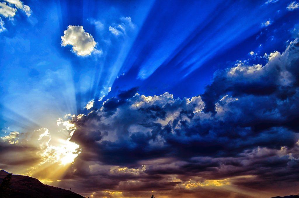 天の故郷を仰いでの写真