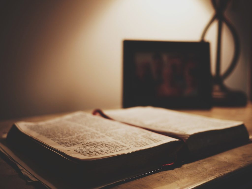 聖書解釈の写真