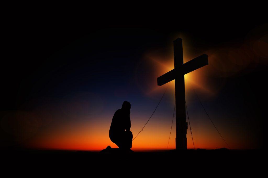 キリストが中心の写真